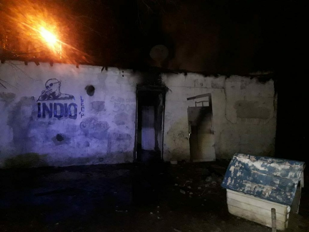Incendio de vivienda