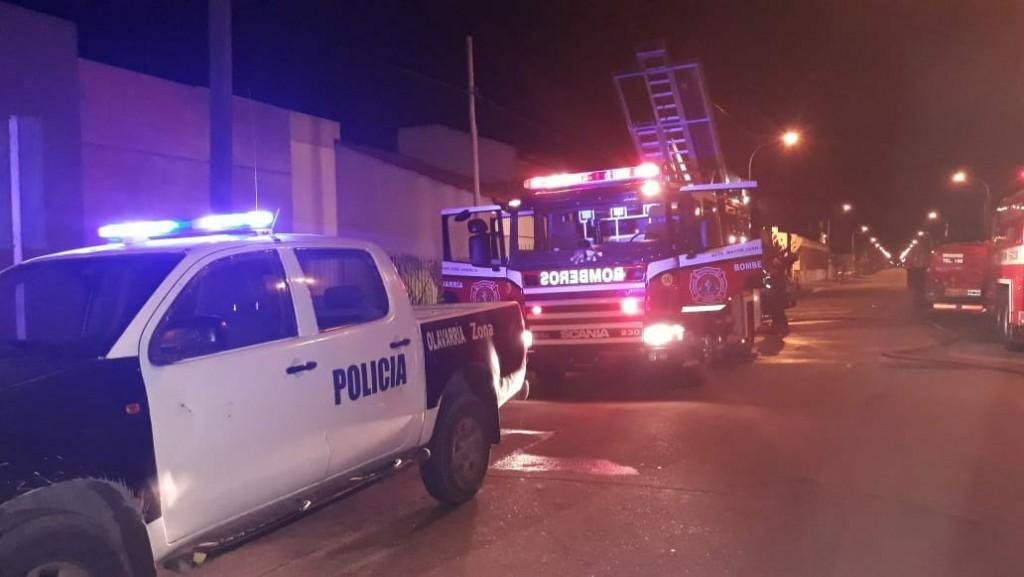 Una catequista de la Iglesia Luján falleció en un incendio