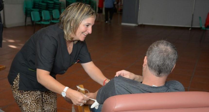 La donación de sangre de donantes voluntarios de médula ósea será en el Salón Rivadavia