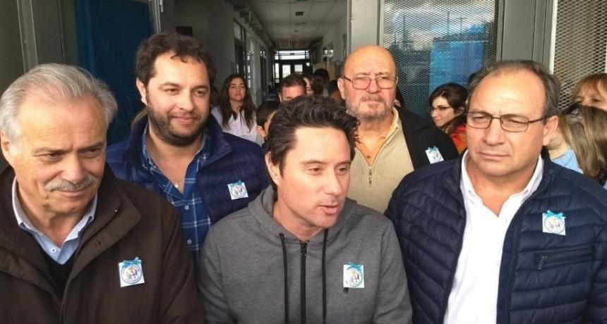 Alvear: el Intendente Capra junto al Ministro Sánchez Zinny