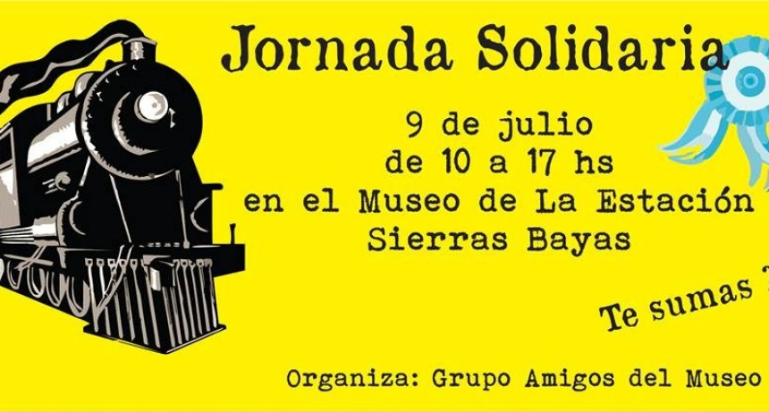Sierras Bayas: se preparan para celebrar la llegada del tren a la localidad