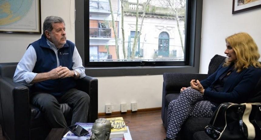 Lordén se reunió con el Ministro Elustondo
