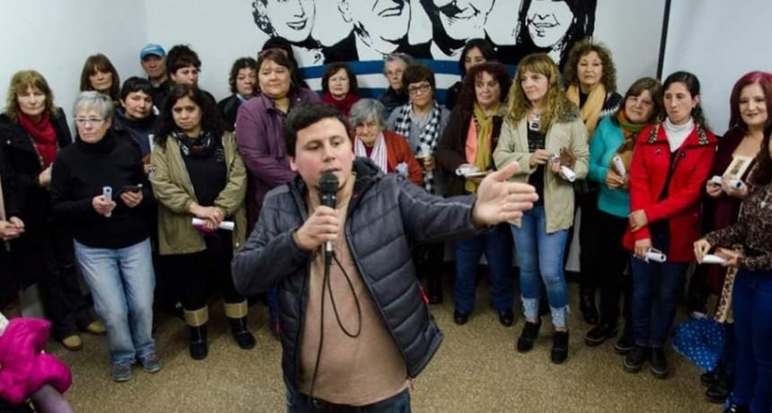 El PJ Olavarría le rindió Homenaje a Eva Perón