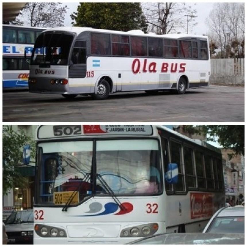 Este lunes aumenta el boleto de transporte público en Olavarría