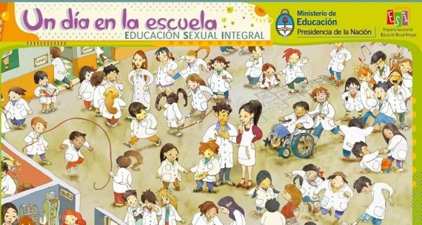 'La educación sexual integral está en las escuelas'