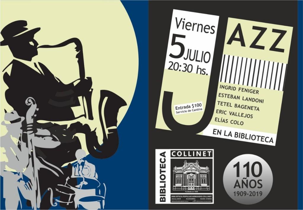 Espectáculo de Jazz en la Biblioteca 'Armando Collinet'