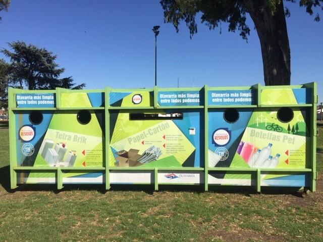 Nueva ubicación de Ecopuntos: Parque Eva Perón y Sierras Bayas