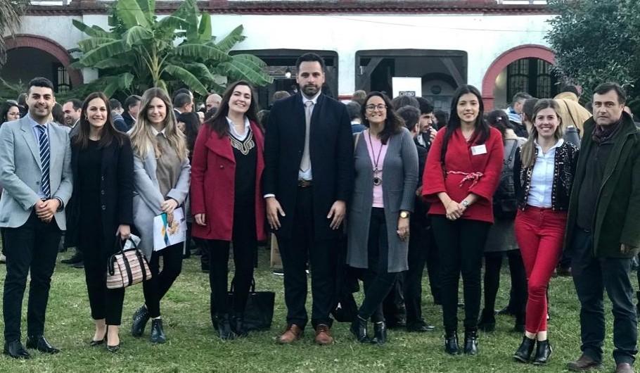 Encuentro de dirigentes organizado por el Colegio de Abogados Provincial