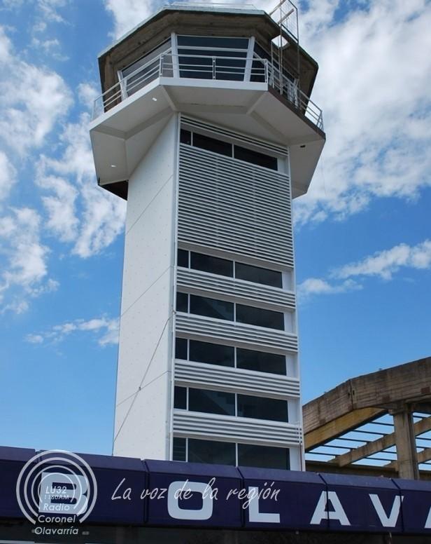 Aeródromos: comenzó la instalación de tecnología para que puedan operar de noche