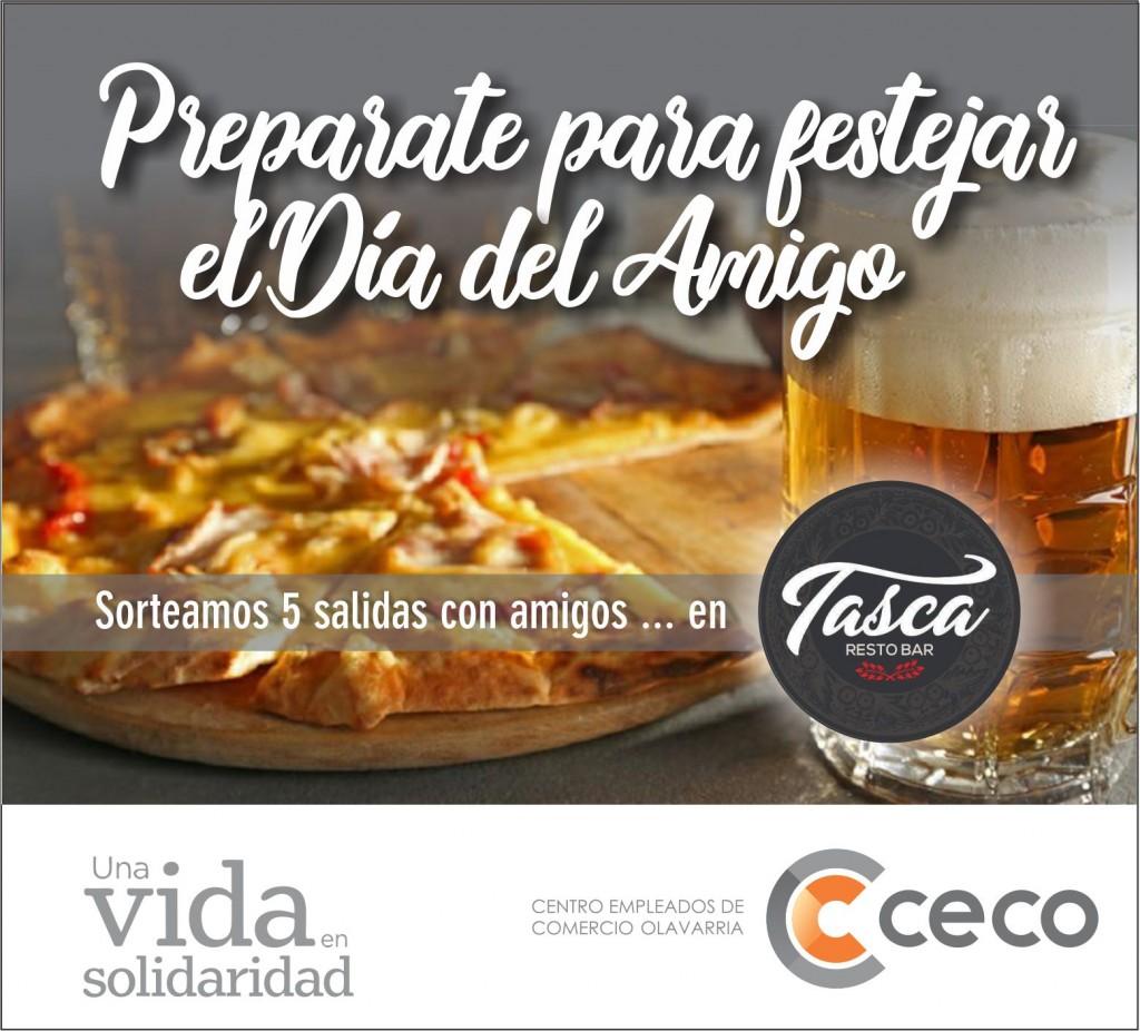 El CECO promueve el festejo del día del amigo obsequiando cenas y picadas entre sus afiliados