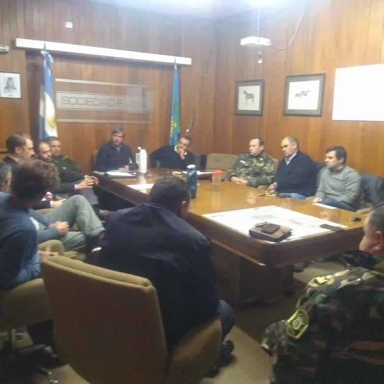 Reunión de seguridad con productores damnificados por abigeato