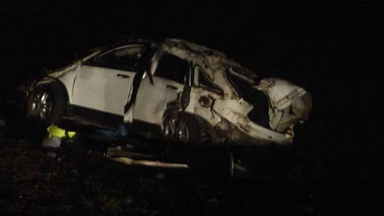 Grave accidente de El Pepo: volcó con su camioneta y murieron dos acompañantes