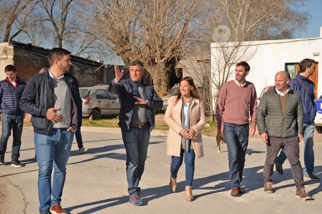 El Intendente Galli inauguró obras en el barrio Eucaliptus