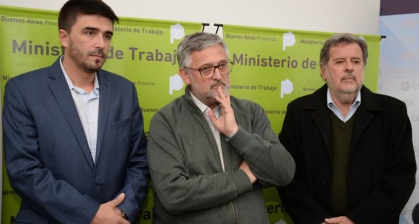 Expo 'Conectamos Trabajo': satisfacción del Ministro y el Intendente