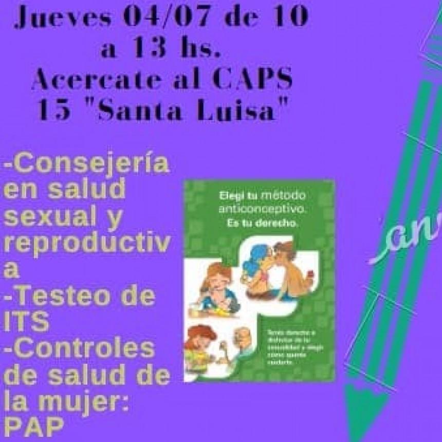 Programa  itinerante de salud sexual