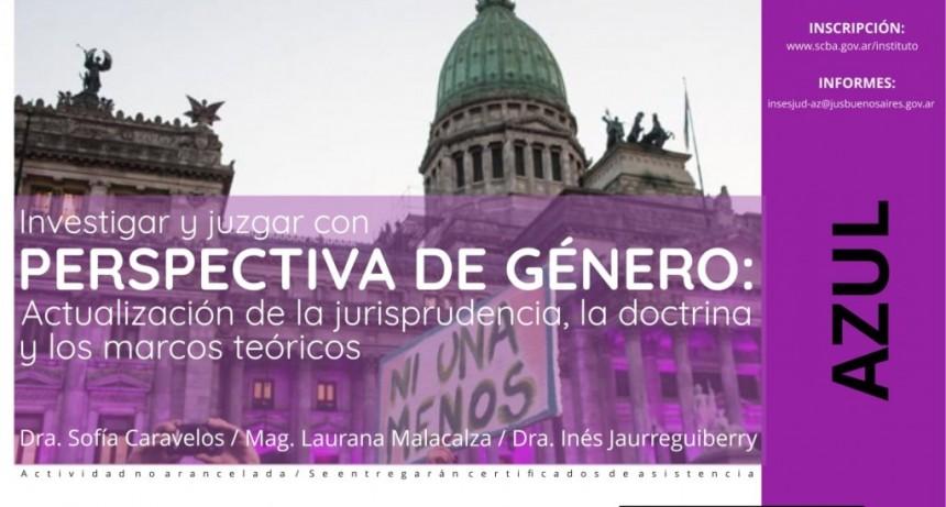 """Jornada Investigar y Juzgar """"Perspectiva de Género"""""""