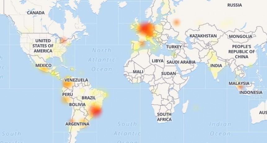 Problemas en Whatsapp, Facebook e Instagram