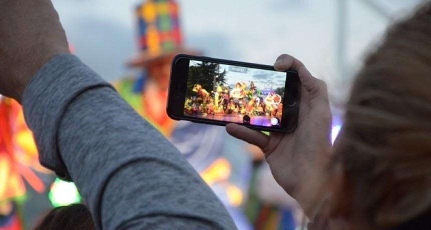 Filmación con celulares en el Club Social de Innovación