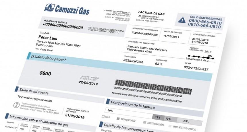 Gas: programa de diferimiento de los consumos invernales