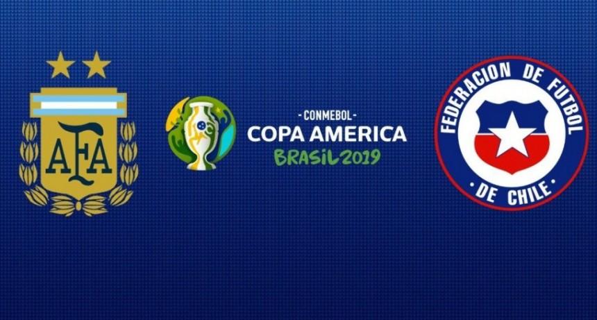 Partido Argentina-Chile, Brasil-Perú y final del TC son transmisiones de Radio Olavarría