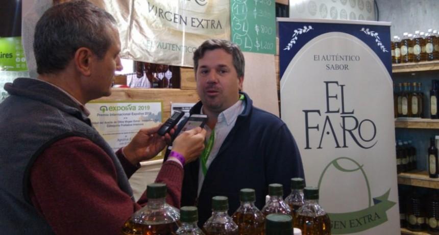 'Caminos y Sabores':Coronel Dorrego presente con aceite de oliva 'El Faro'