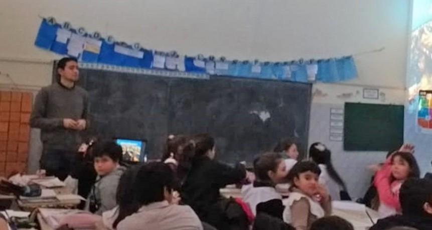 """La Escuela Nº8 se sumó al """"Olavarría conoce Olavarría"""""""