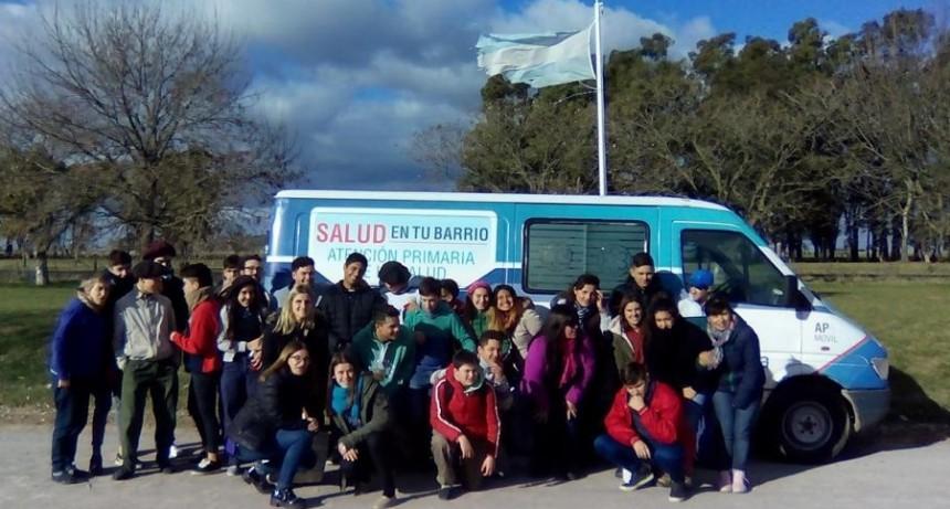 Proyecto Itinerante de Salud Sexual: intervención en Santa Luisa