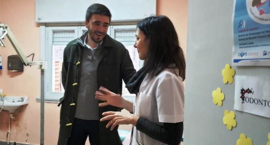 El Intendente visitó un renovado Centro de Atención Primaria