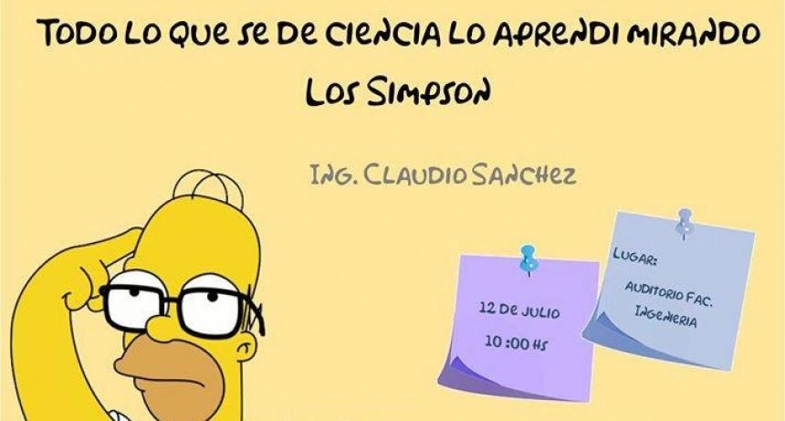 Charla: 'Todo lo que sé de ciencia, lo aprendí mirando Los Simpsons'