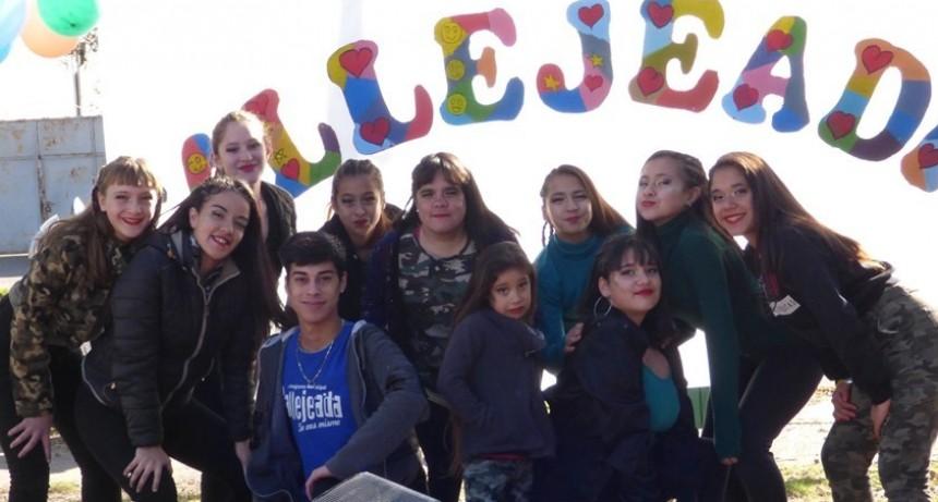 Callejeada Loma Negra festejó sus 14 años