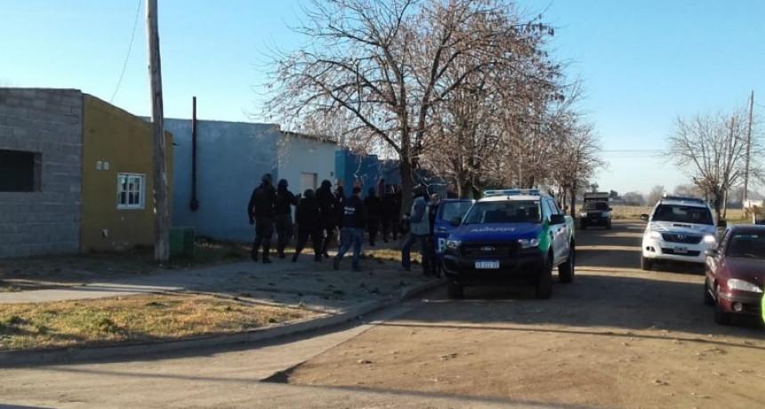 Allanamientos por abigeato en Santa Luisa