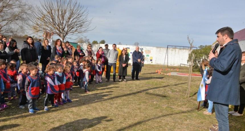 Inauguraron obras en el Jardín Belén