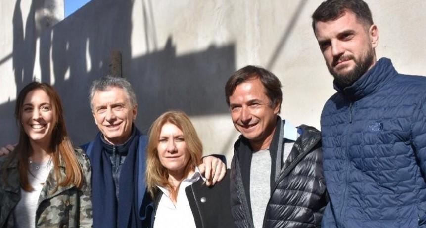 Junto a Macri y Vidal, Lordén visitó el Hospital Materno Infantil de Azul
