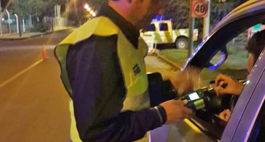 Informe semanal de tránsito: ocho alcoholemias positivas