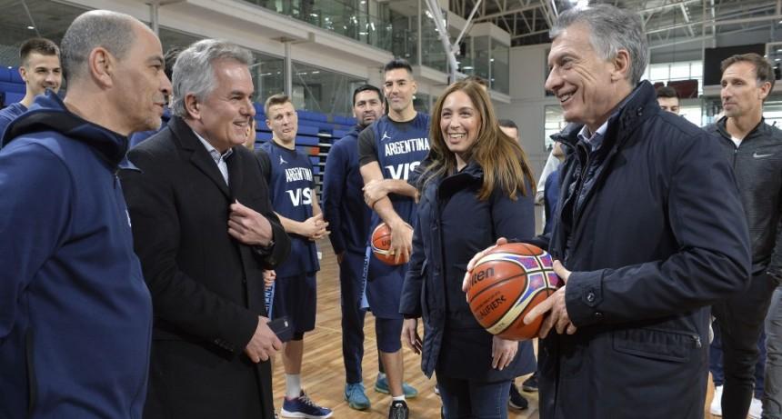 Vidal y Macri recorrieron Bahía Blanca y Coronel Rosales