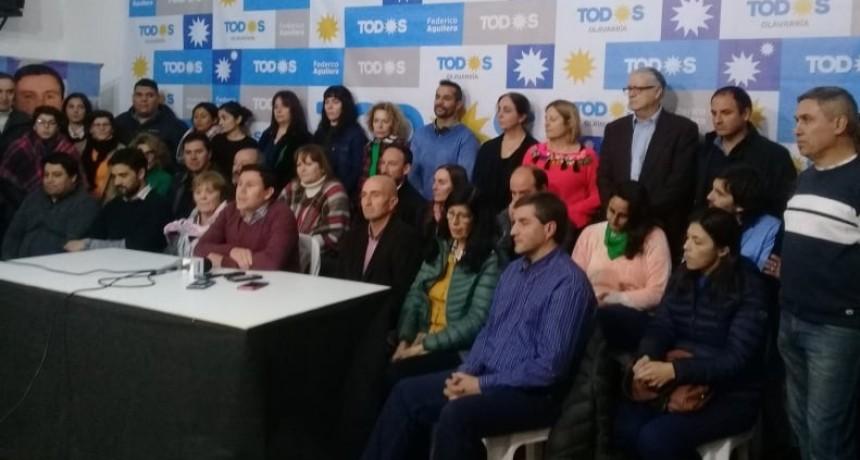 El Frente de Todos presentó la plataforma de Gobierno