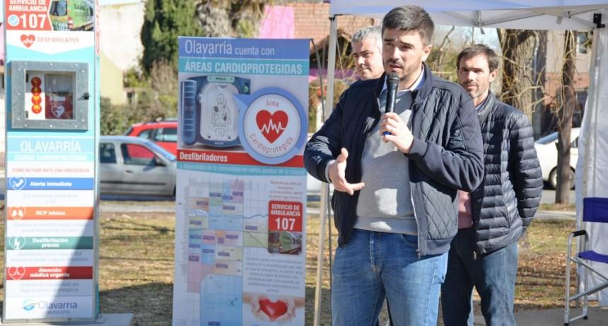 Olavarría se consolida como Municipio Cardioprotegido