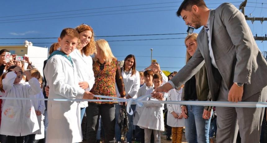 """Galli: """"Ver la sonrisa de los chicos en sus escuelas renovadas es impagable"""""""