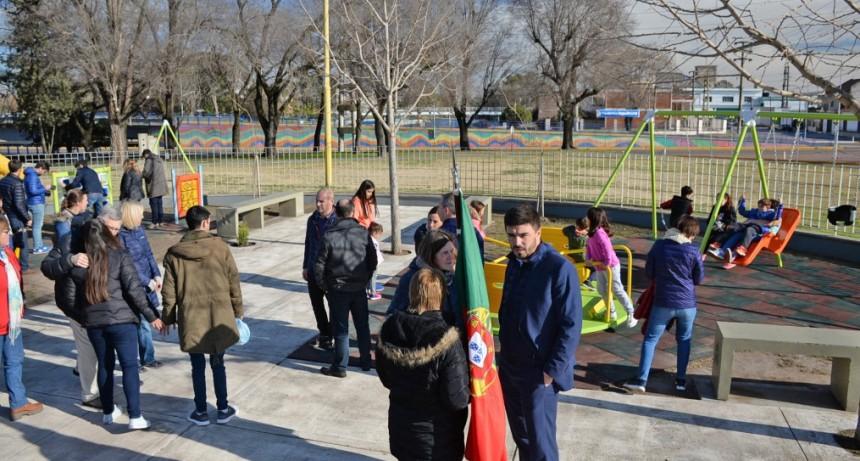 Inauguraron la re funcionalización de la Plaza del Bicentenario