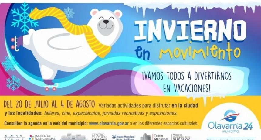 Vacaciones: un Invierno en Movimiento