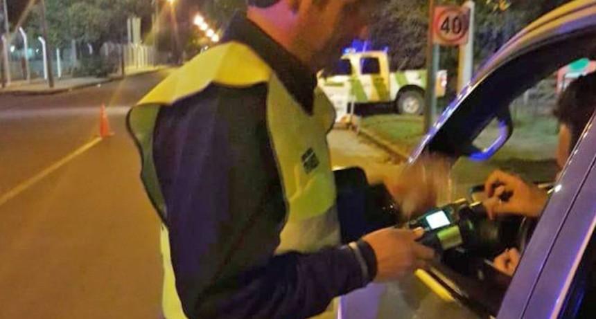 Alcoholemia positiva: siete multas de más de 15 mil pesos e inhabilitación para conducir