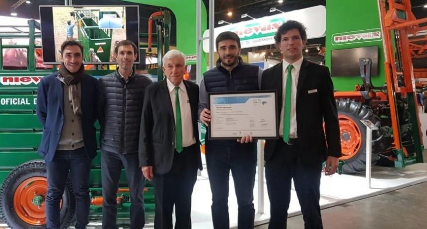 El intendente Ezequiel Galli visitó a olavarrienses en la 133° Exposición Rural
