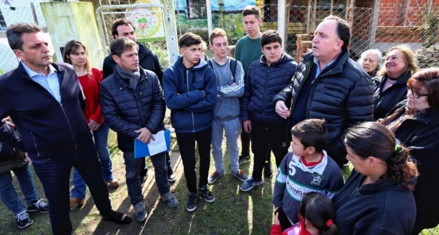 """Axel Kicillof: """"Vamos a poner todas las escuelas en condiciones"""""""