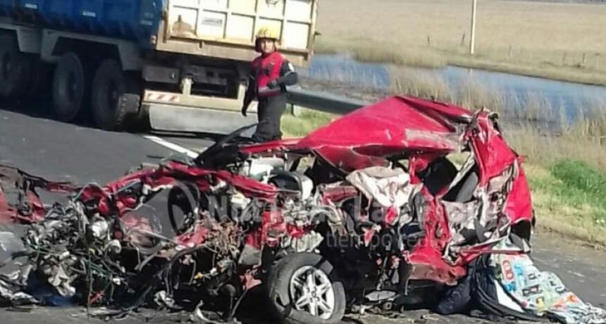 Por un fatal accidente estuvo cortado el tránsito en la ruta 3