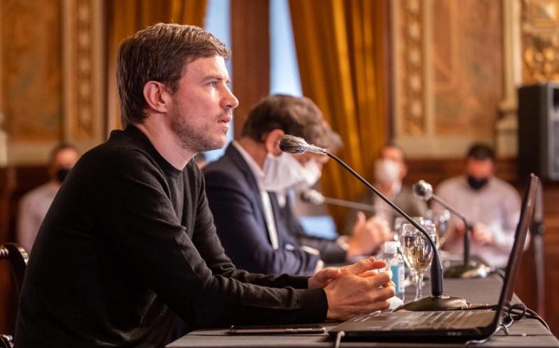 """Kicillof lanza un plan de alivio para el sector privado que incluye un """"ATP bonaerense"""""""