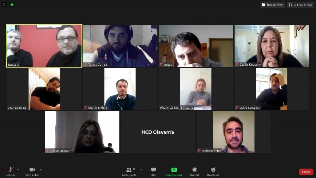 Concejales se entrevistaron con los periodistas que trabajaban en Infoeme