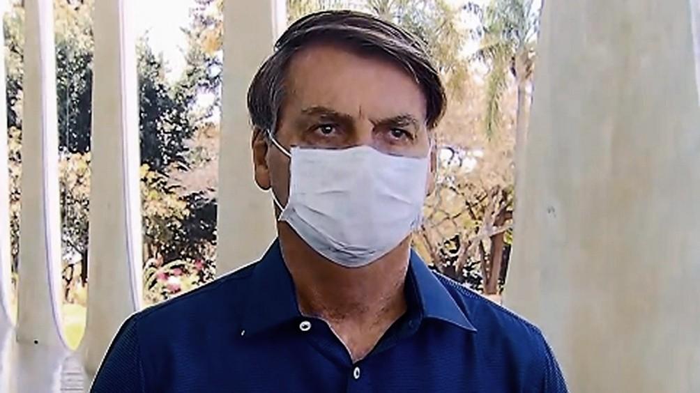 Bolsonaro dio positivo de coronavirus pero aclara: