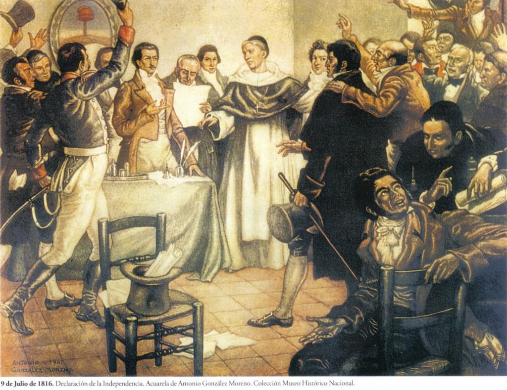 Celebración del Día de la Indepencia en Olavarría: acto en el Regimiento y velada de gala virtual