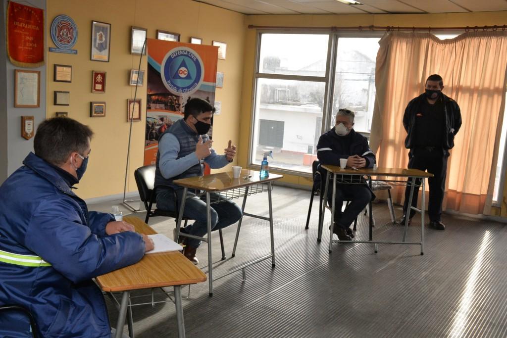 Hubo reunión del Comité de Emergencias