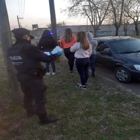Más de 20 personas en infracción por romper el aislamiento